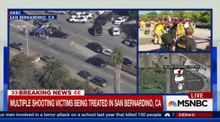 A Mass Shooting In San Bernadino Ca �� Kindra Simmons